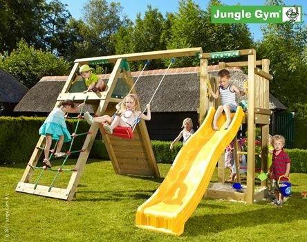 Dřevěné dětské hřiště na zahradu